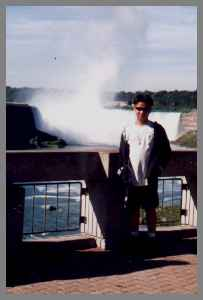 Me in Niagara Falls (along time ago!!)